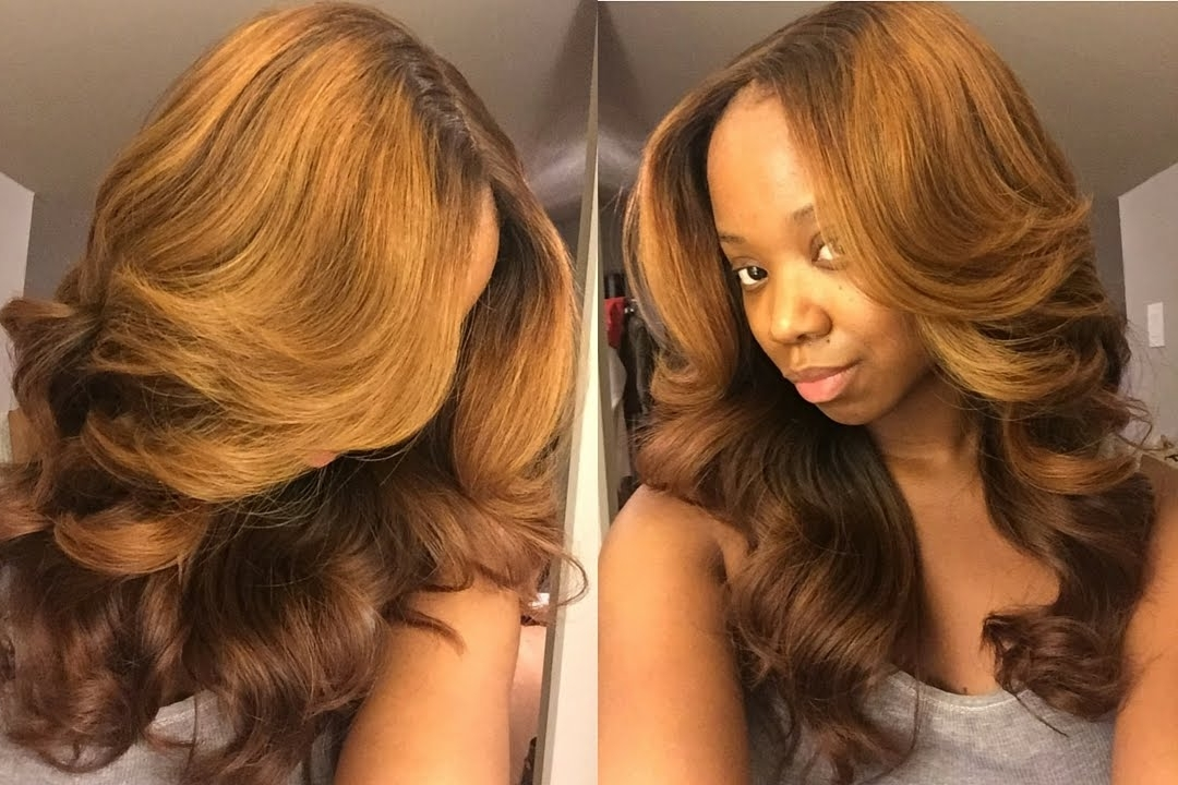 Pt2 Fall Honey Blonde Tutorial Her Hair Company – Youtube Regarding Honey Blonde Hairstyles (View 24 of 25)