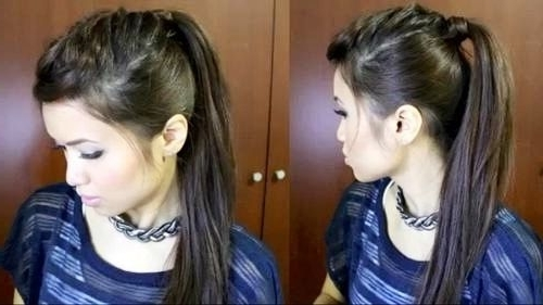 Featured Photo of Punky Ponytail Hairstyles