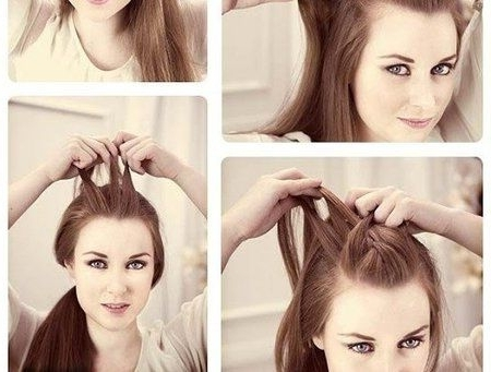 Punky Ponytail Tutorial | Love Being A Woman!!! | Pinterest Throughout Punky Ponytail Hairstyles (View 4 of 25)