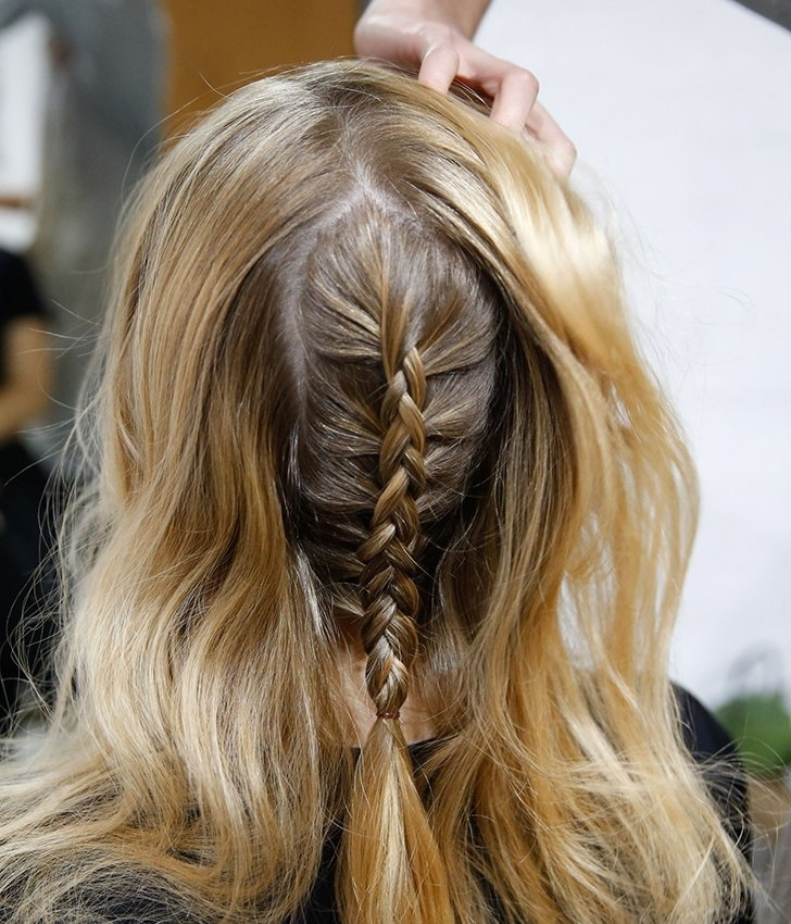 Quick Hairstyles For Work | Popsugar Beauty Australia Inside Braided Along The Way Hairstyles (View 21 of 25)