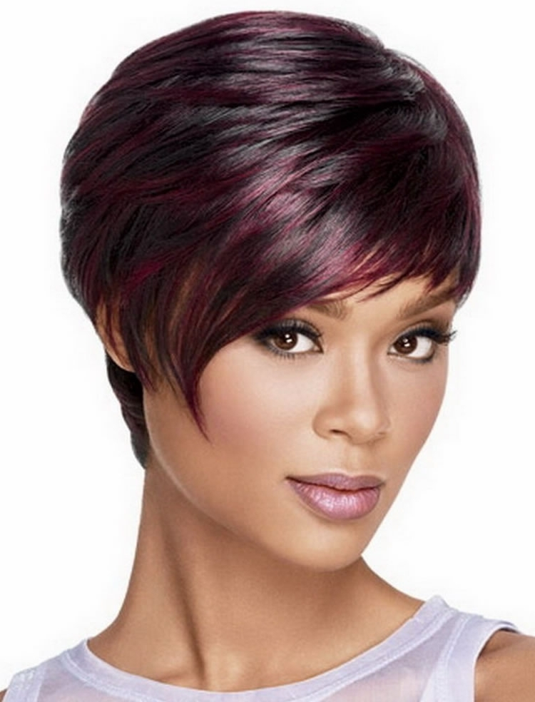 Ravishing African American Short Hairstyles And Haircuts Page 3 Of 7 Intended For 2018 Ravishing Red Pixie Hairstyles (View 5 of 25)