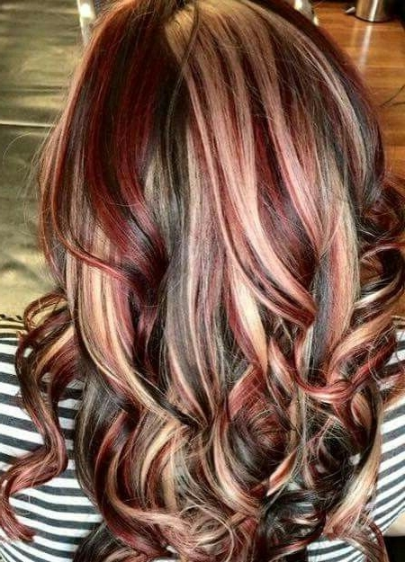 Red, Blonde & Brunette | Hairstyles | Pinterest | Red Blonde, Blonde With Blonde And Brunette Hairstyles (View 23 of 25)