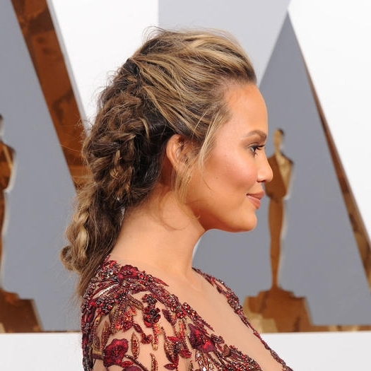 Red Carpet Worthy Hairstyles To Rock At The Gym | Shape Magazine With Red Carpet Worthy Hairstyles (View 21 of 25)