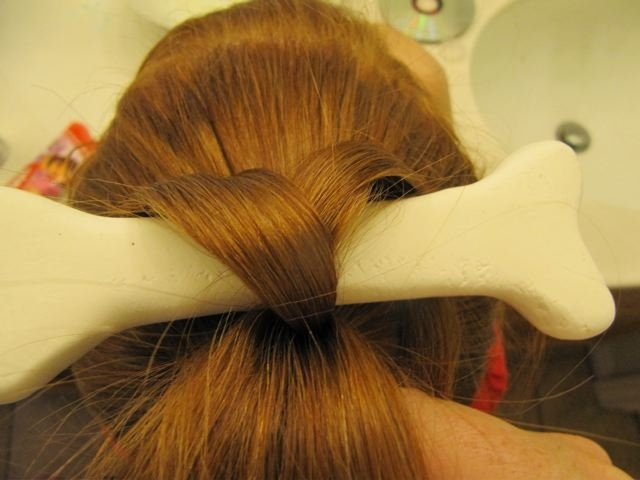 Redpunzel: Pebbles Flintstone Throughout Pebbles Pony Hairstyles (View 5 of 25)
