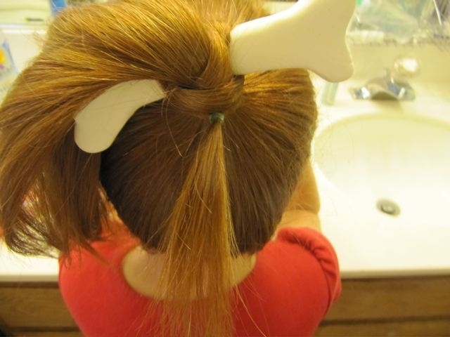 Redpunzel: Pebbles Flintstone With Pebbles Pony Hairstyles (View 12 of 25)