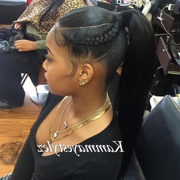 Résultats De Recherche D'images Pour « Sleek Ponytail Hairstyles For Intended For Long And Sleek Black Ponytail Hairstyles (View 22 of 25)