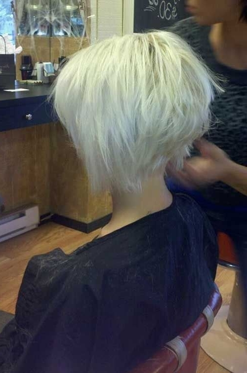 Reverse Bob Haircut Awesome ~ Eatprayfashion With Regard To Stacked White Blonde Bob Hairstyles (View 21 of 25)