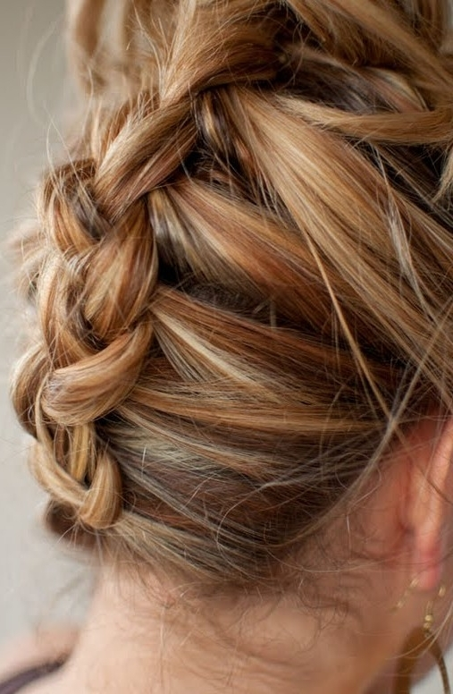 Reverse French Braid – Best Summer Hairstyle For Long Hair For Reverse French Braid Ponytail Hairstyles (View 16 of 25)