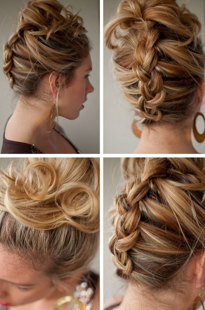 Reverse French Braid – Best Summer Hairstyle For Long Hair Regarding Reverse French Braid Ponytail Hairstyles (View 17 of 25)