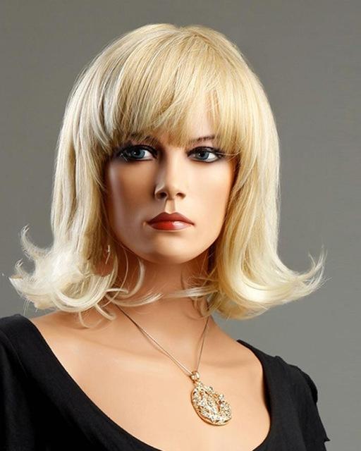 Rika Hair Charming Lady Long Wavy Wigs White Blonde Shoulder Length Regarding White Blonde Curls Hairstyles (View 19 of 25)