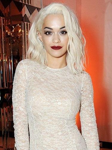 Rita Ora's New Platinum Hair :: Celebrity & Beauty Regarding Long Platinum Locks Blonde Hairstyles (View 22 of 25)