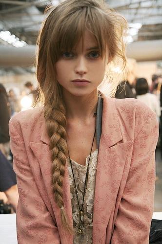 Romantic Fishtail Braid | Hair Tutorials | Pinterest | Wispy Bangs In Wispy Fishtail Hairstyles (View 16 of 25)
