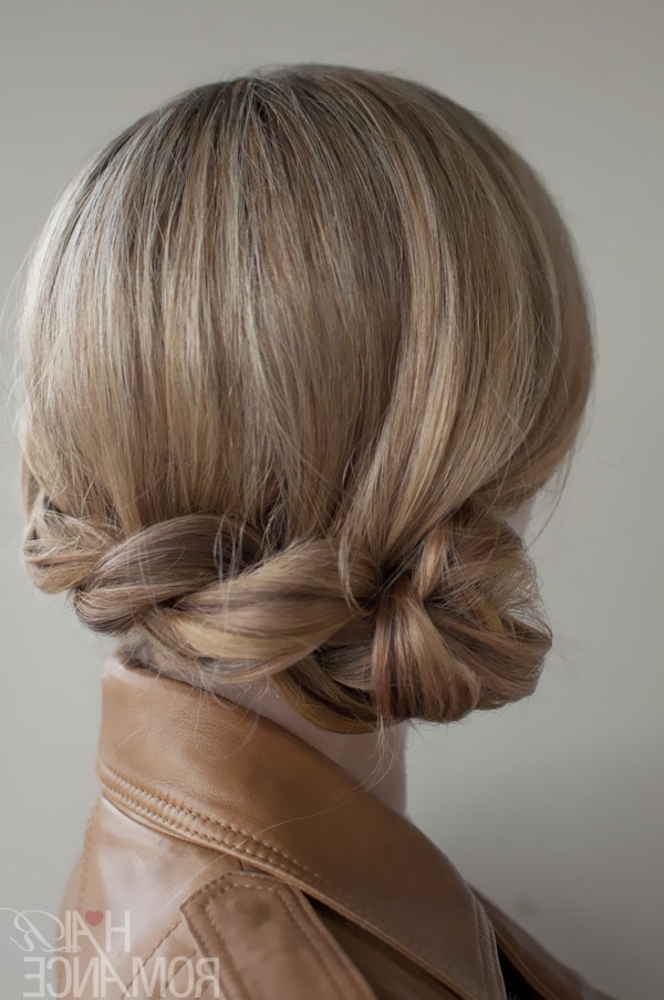 Romantic Side Twisted Braid – Braided Updo For Any Occasion Inside Twisted Side Ponytail Hairstyles (View 13 of 25)