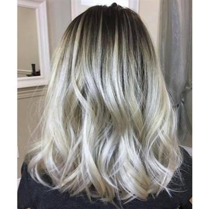 Rooty Blonde Color Melt – Behindthechair Regarding Blonde Color Melt Hairstyles (View 24 of 25)