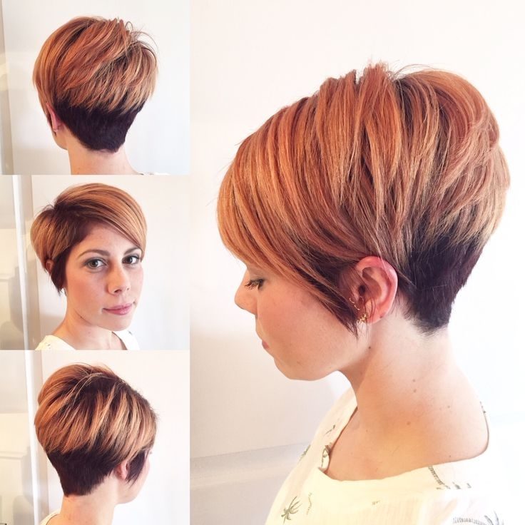 Rose Gold Short Hairstyles | Hair Color Ideas And Styles For 2018 Pertaining To Current Rose Gold Pixie Hairstyles (View 17 of 25)