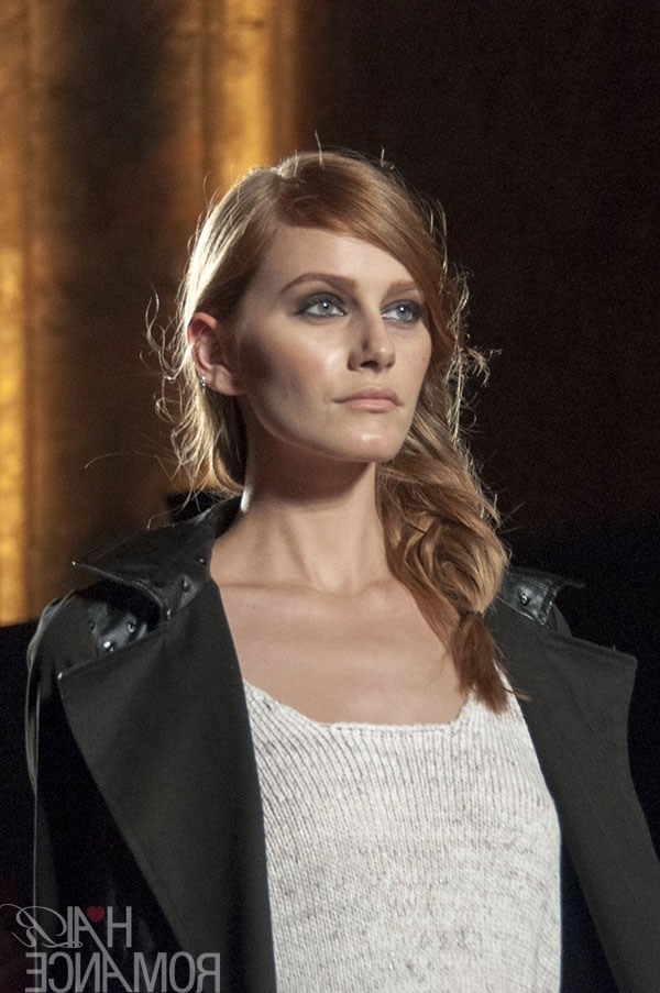 Runway Trend You Can Wear Every Day – The Side Fishtail Braid – Hair With Wispy Fishtail Hairstyles (View 21 of 25)