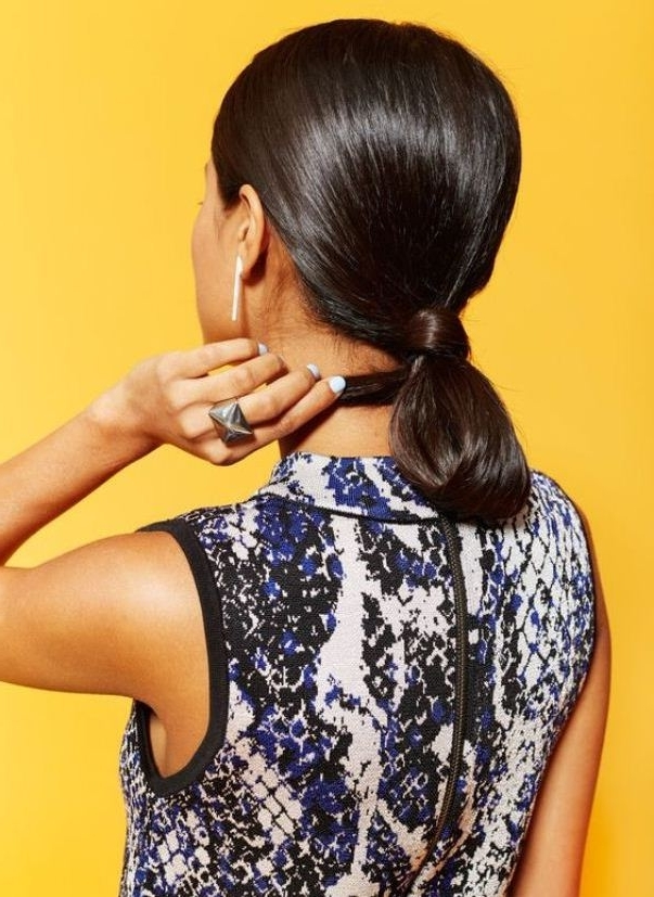 Sassy Hairstyles For The Indian Summermydala Blog Throughout Loose And Looped Ponytail Hairstyles (View 21 of 25)