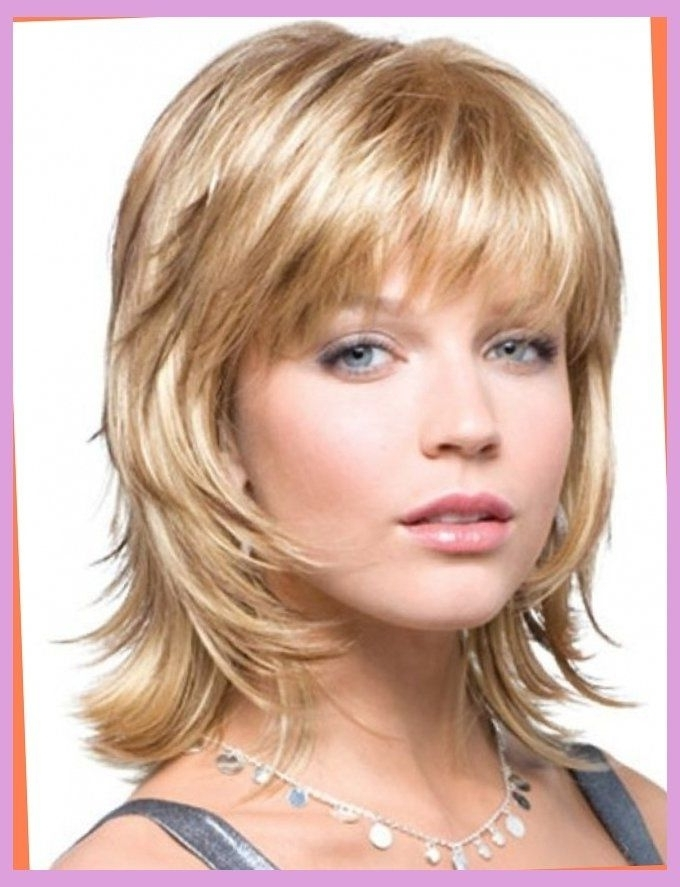 Shag Haircuts For Women Over 50 | Short Shag Hairstyles For Women Throughout Platinum Tresses Blonde Hairstyles With Shaggy Cut (View 2 of 25)