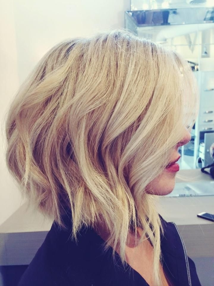 Shattered Lob, Highlights And Styledallas Blonde Specialist With Regard To Beachy Waves Hairstyles With Blonde Highlights (View 25 of 25)