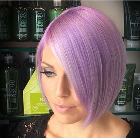 Short Bob Haircuts » Haircuts Photos – Hairstyles Pertaining To Most Recently Lavender Pixie Bob Hairstyles (View 13 of 25)