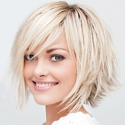 Short Bob Hairstyles For 2012 – 2013 | Short Shaggy Bob Hair Pertaining To Choppy Cut Blonde Hairstyles With Bright Frame (View 22 of 25)