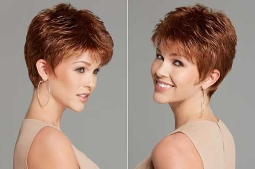 Short Choppy Hairstyles For Over Pixie Hairstyles For Over Short Inside Newest Choppy Gray Pixie Hairstyles (View 6 of 25)