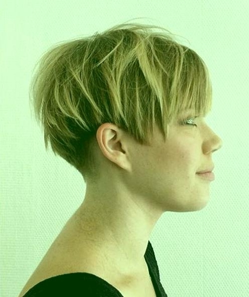Short Choppy Layered Haircuts Short Wedge Hairstyles Posh Pixie Intended For Newest Pixie Wedge Hairstyles (View 17 of 25)