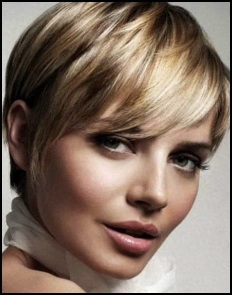 Short Cuts 2018 – Hair Color Ideas Within Best And Newest Platinum Blonde Disheveled Pixie Hairstyles (View 19 of 25)