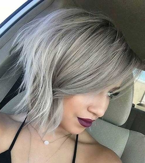 Short Grey Hair Pics | Short Hairstyles 2017 – 2018 | Most Popular Regarding Most Recently Gray Blonde Pixie Hairstyles (View 10 of 25)
