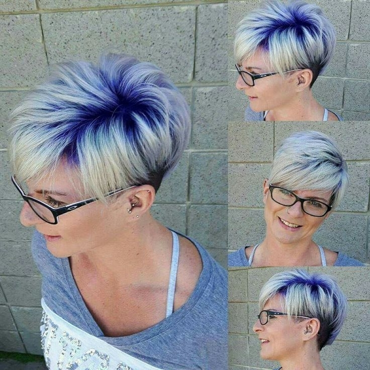 Short Hair Colour Ideas 2012 – 2013 | Short Haircuts, Short Hair And For Platinum And Purple Pixie Blonde Hairstyles (View 3 of 25)