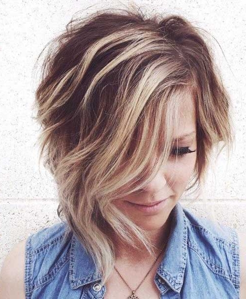 Short Hair Ideas For Round Face | Short Hairstyles 2017 – 2018 For Latest Asymmetrical Long Pixie Hairstyles For Round Faces (View 21 of 25)