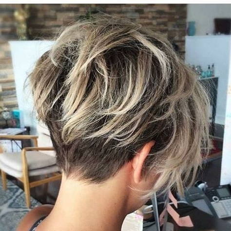Short Hair Short Hair Cuts For Women Short Hair Styles Short Hair For Latest Undercut Blonde Pixie Hairstyles With Dark Roots (View 8 of 25)