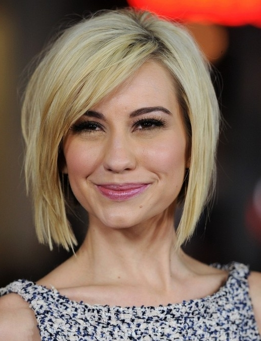 Short Hair With Side Bangs   Cool Hairstyles Within Blonde Bob With Side Bangs (View 15 of 25)