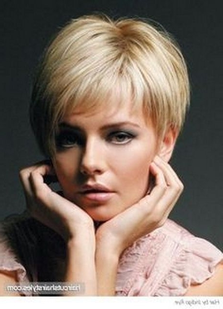 Short Hairstyles For Fine Hair Over 40   Pixie Haircuts 2012 For Newest Pixie Wedge Hairstyles (View 20 of 25)