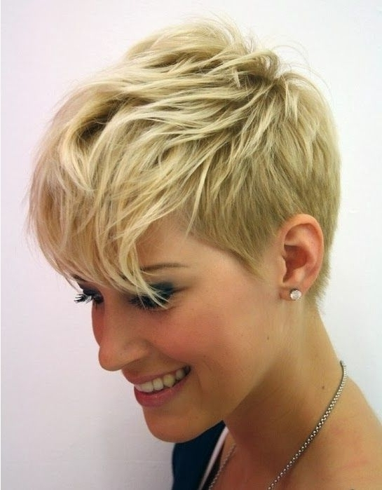Short Hairstyles For Fine Thin Hair And Round Face | Fashion And Throughout Current Soft Pixie Bob Haircuts For Fine Hair (View 20 of 25)