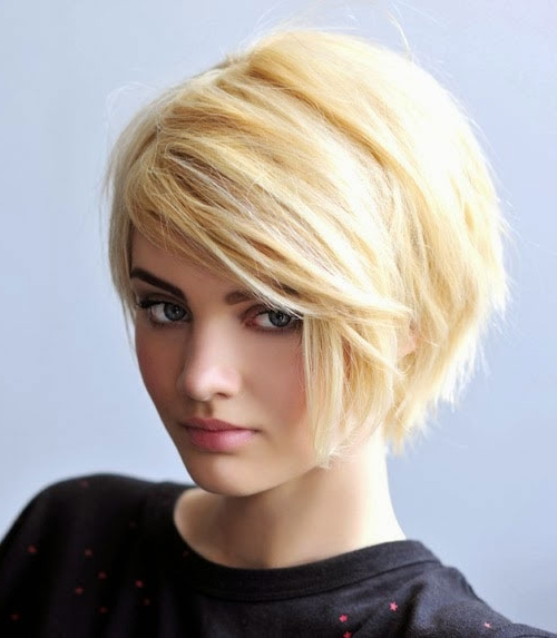 Short Layered Bob Hairstyles Cute Blonde – Cool & Trendy Short Inside Short Blonde Bob Hairstyles With Layers (View 22 of 25)