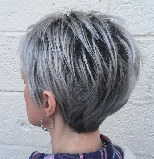 Short Pixie Cuts For 2018 – Everything You Should Know About A Pixie Cut Intended For Platinum Tresses Blonde Hairstyles With Shaggy Cut (View 19 of 25)
