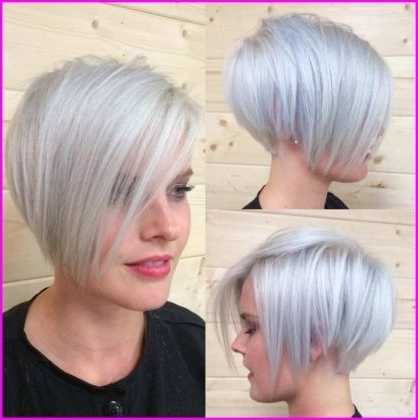 Short Pixie Cuts – Pixie Cut With Bangs – Short Pixie Cuts Regarding Most Current Side Parted Silver Pixie Bob Hairstyles (View 25 of 25)