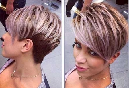 Short Pixie Hairstyles 2014 – 2015 | Short Hairstyles 2017 – 2018 Throughout Most Recently Two Tone Pixie Hairstyles (View 12 of 25)