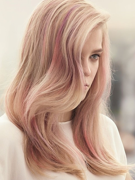 Should I Dye My Hair Rose Gold – Hair World Magazine Intended For Golden And Platinum Blonde Hairstyles (View 13 of 25)