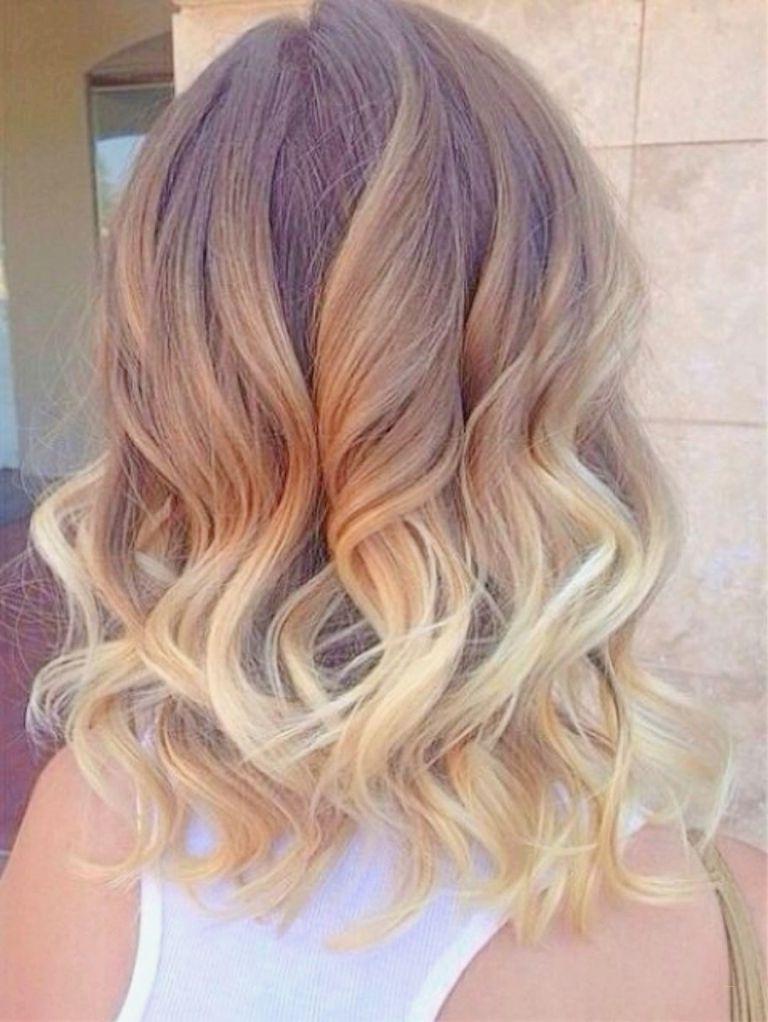 Shoulder Length Blonde Hairstyles New Best Ombre Hairstyles For Pertaining To Shoulder Length Ombre Blonde Hairstyles (View 10 of 25)