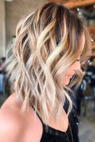 Shoulder Length Haircuts: 27 Hairstyles For Shoulder Length Hair Throughout Shoulder Length Ombre Blonde Hairstyles (View 7 of 25)