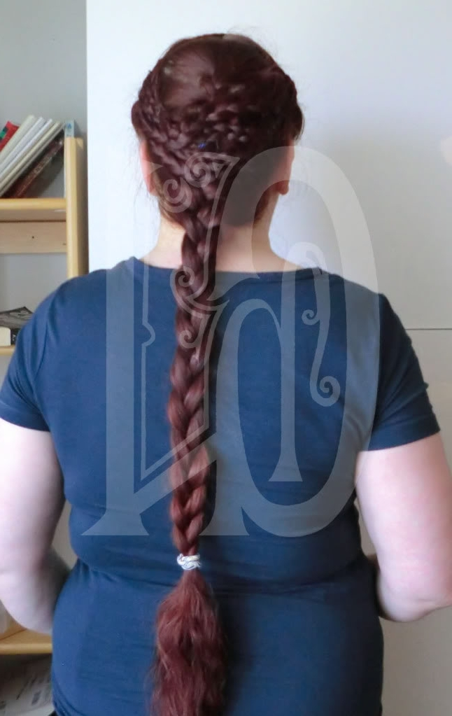 "Show Me Your ""historical"" Hairstyles/tutorials! [Archive] – The Long Pertaining To Reverse French Braids Ponytail Hairstyles With Chocolate Coils (View 25 of 25)"