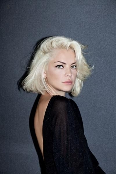 Side Part Bob | Face | Pinterest | Bobs, Platinum Blonde Bobs And Intended For White Blunt Blonde Bob Hairstyles (View 22 of 25)