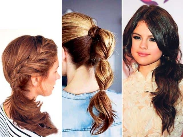 Side Swept To The Bohemian: Party Worthy Ponies To Try | Fashion And Within Braided Boho Locks Pony Hairstyles (View 9 of 25)