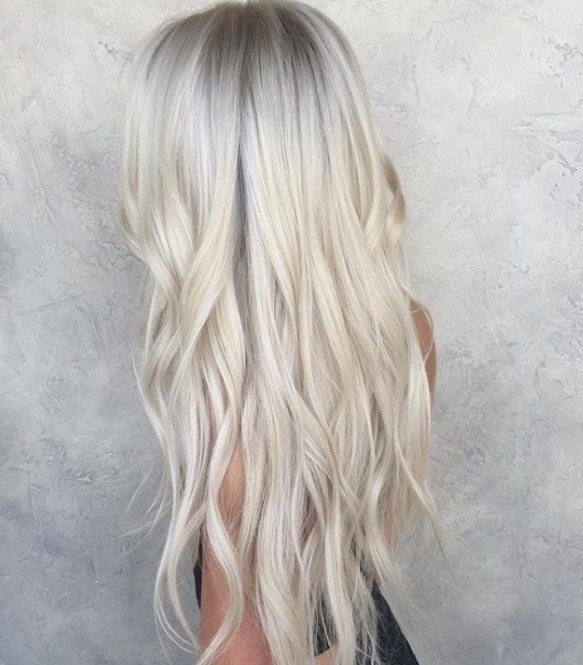 Silver Blonde Hair: 9 Striking Hues We're Currently Obsessed With With Silver Blonde Straight Hairstyles (View 16 of 25)