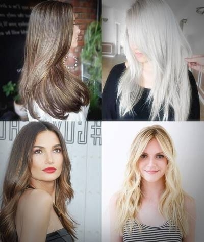 Silver Blonde Layered Straight Hairstyle Tile – Haircut Styles And Throughout Silver Blonde Straight Hairstyles (View 9 of 25)