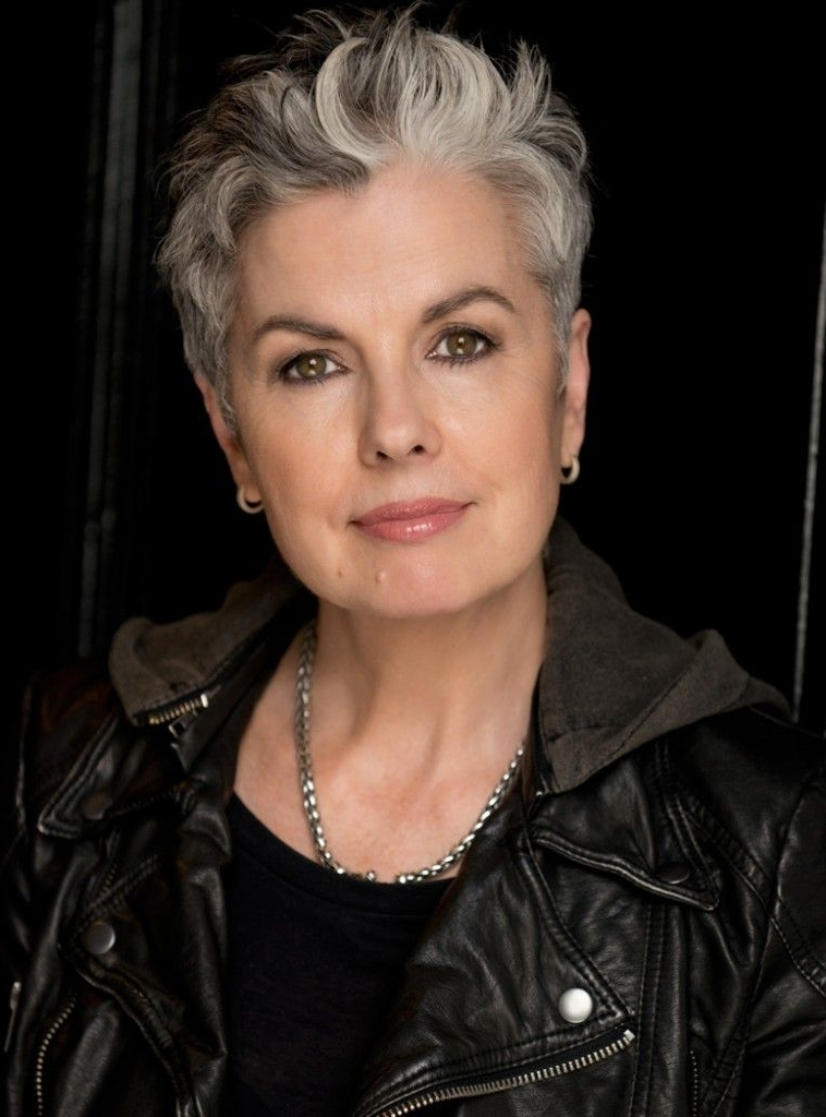 Silver Grey Hair … | Hair And Beauty | Pinterest | Silver Grey Hair In Sassy Silver Pixie Blonde Hairstyles (View 20 of 25)