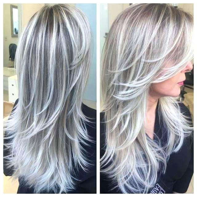 Silver Highlights On Brown Hair – Detikcom (View 25 of 25)