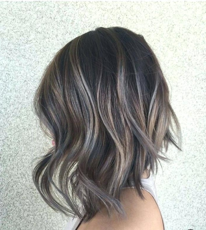 Silver Highlights On Brown Hair – Detikcom (View 23 of 25)